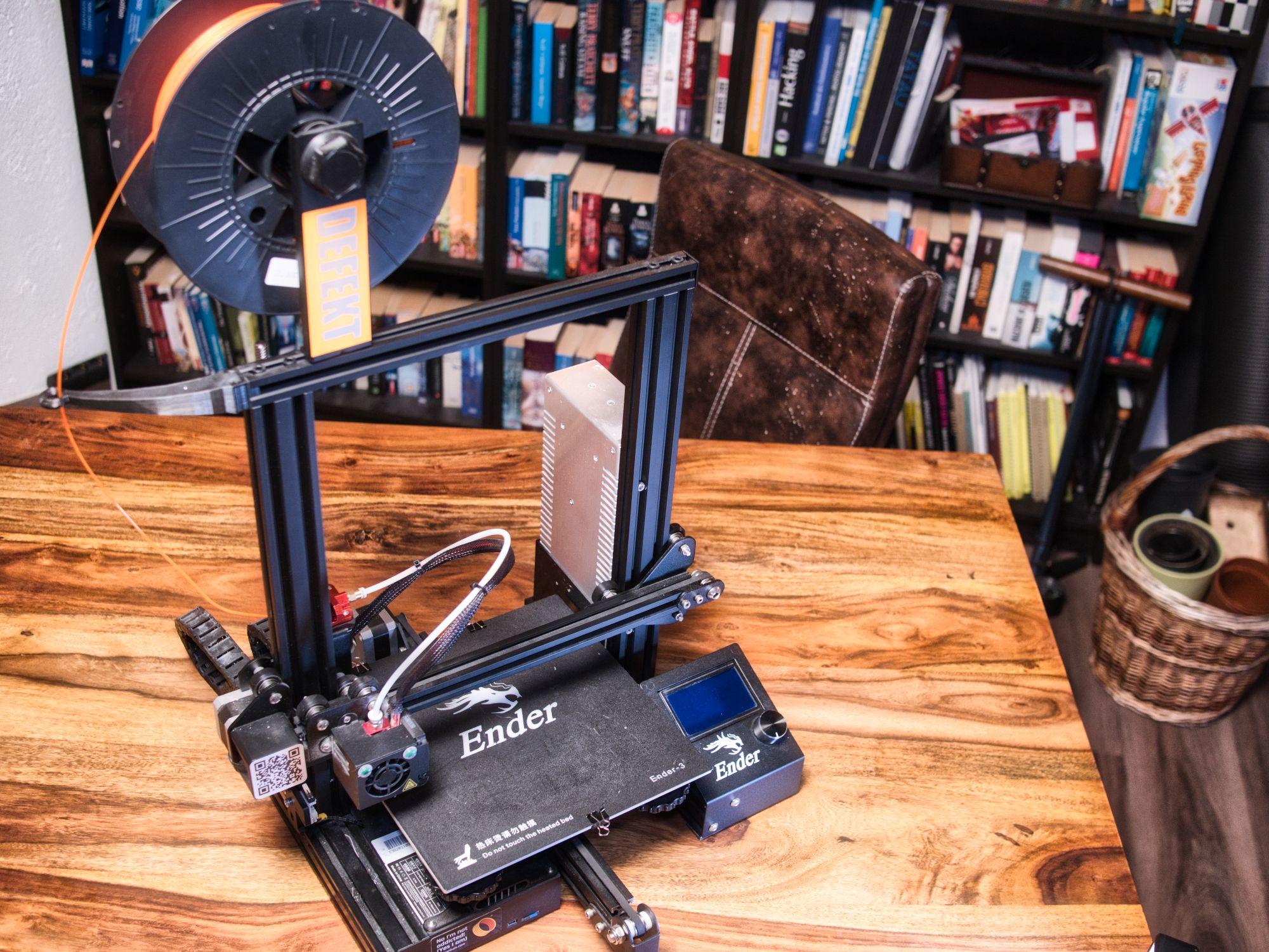 An Ender-3  3d printer