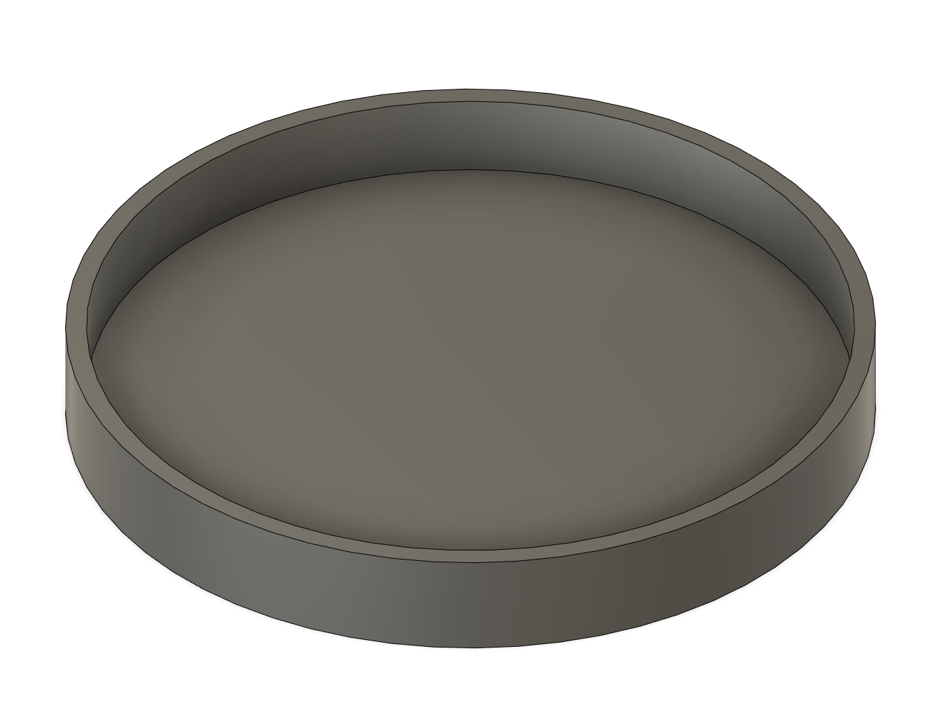 CAD file of a tin can lid.
